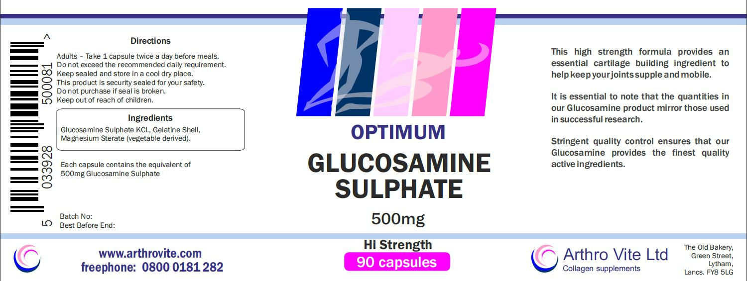 Arthritis & Joint Care - Glucosamine Supplements | Arthro Vite